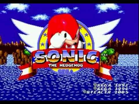 Knuckles The Echidna In Sonic The Hedgehog Genesis Longplay 60 Fps Youtube