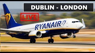 ✈️ X-PLANE 11  | DUBLIN (EIDW) to LONDON STANSTED (EGSS) || NEW ZIBO B737 | LIVE ONLINE FLIGHT