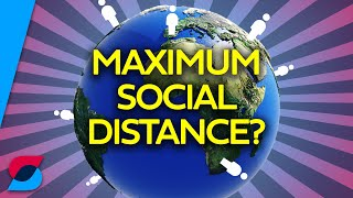 What is the maximum possible social distance?