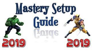 MCOC - Mastery Setup Guide (2019)