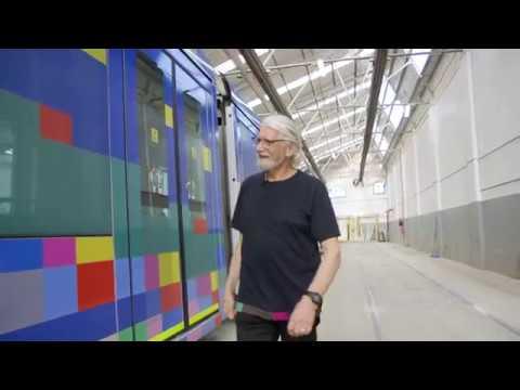 2017 Melbourne Art Trams—Robert Owen