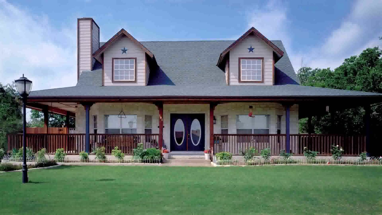Ranch Style House With Wrap Around Porch Floor Plans Youtube
