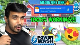 PLAYING @Techno Gamerz  POWER WASH SIMULATOR IN MOBILE    HARSH IN GAME