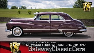 1948 Buick Roadmaster #271-MWK nNow In Our Milwaukee Showroom