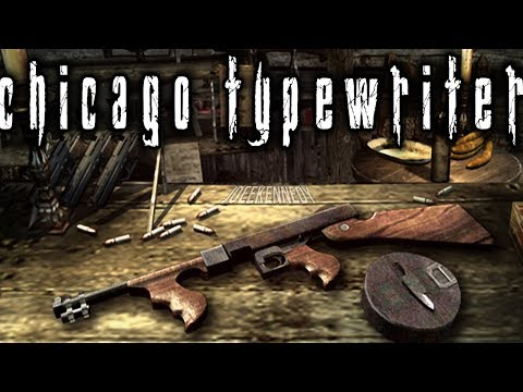 Resident Evil 4 Special Weapons: Chicago Typewriter