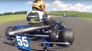 Super 1 Karting 2016: Rd 3, GYG Part 5 | British Karting Championship Racing