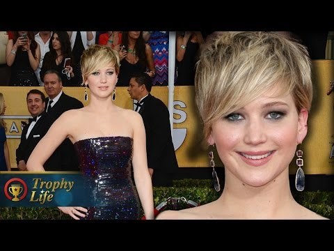 Jennifer Lawrence on the Red Carpet SAG Awards 2014