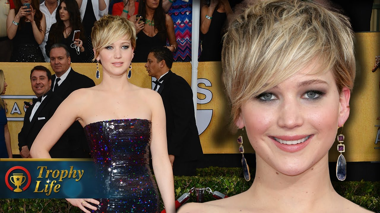 Jennifer Lawrence on the Red Carpet SAG Awards 2014