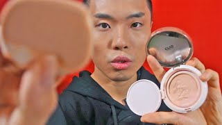 Full Face to Screen 💆🇰🇷 Realistic ASMR: CLIO, Shiseido, Too Cool for School