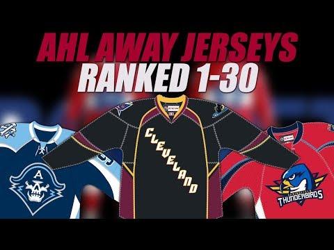 AHL Jerseys Ranked (Dark)