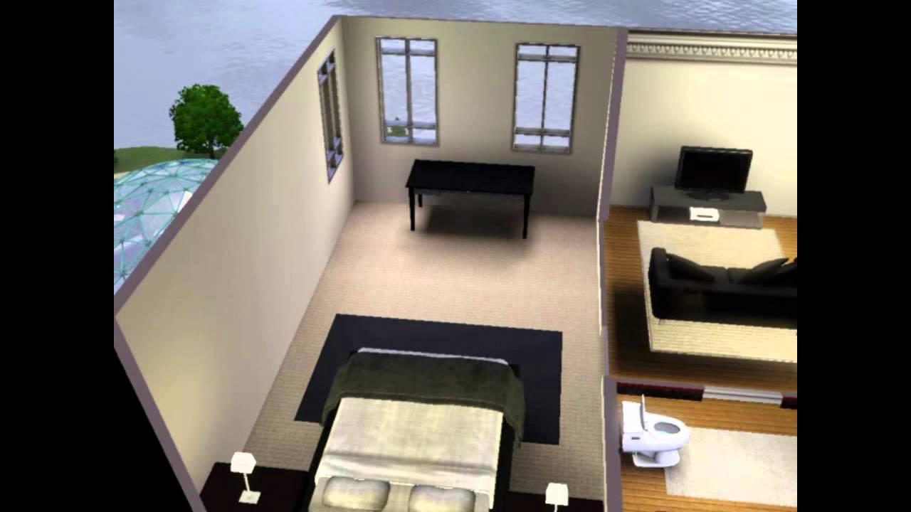 Amueblar un apartamento simple youtube for Apartaestudios pequenos