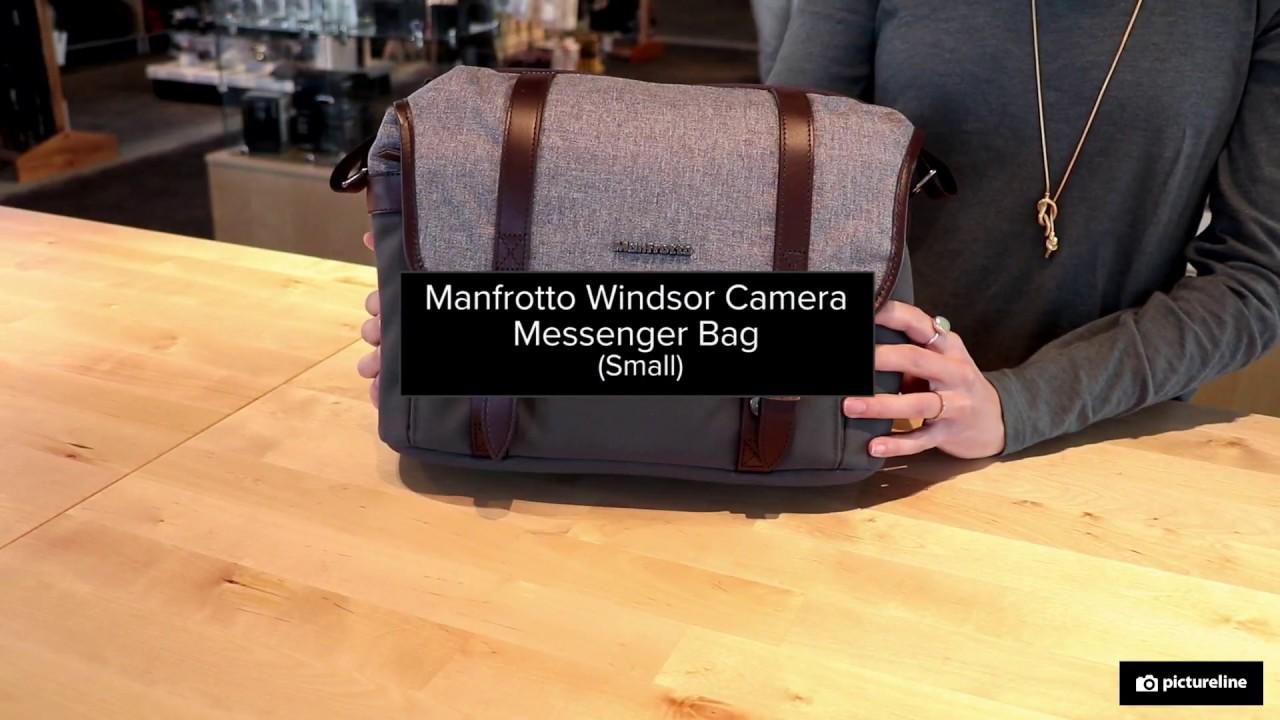 22c551e2c7eb Manfrotto Windsor Messenger Bag - YouTube