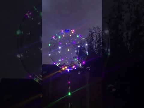 Jellyfish LED Balloon video