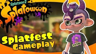 Trick vs Treat! ● Splatoon 2 - Splatoween Splatfest Gameplay