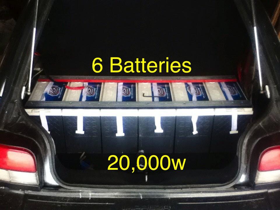 U Batteries Installing 6 XS Power ...