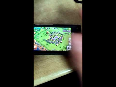 Clash of clan on Nokia N9 Nitdroid