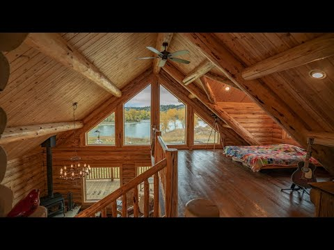1,940 Sq. Ft. mid-sized Log Cabin - The Yellowstone Chalet