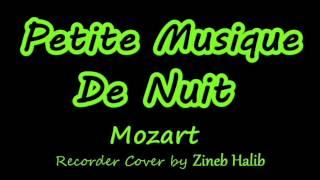 Petite Musique De Nuit-Mozart (Flute à Bec/Recorder Cover by Zineb Halib)