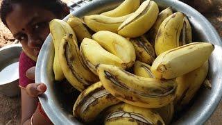 Preparing Sweet Pongal + Banana Panchamirtham in My Village - Food Money Food