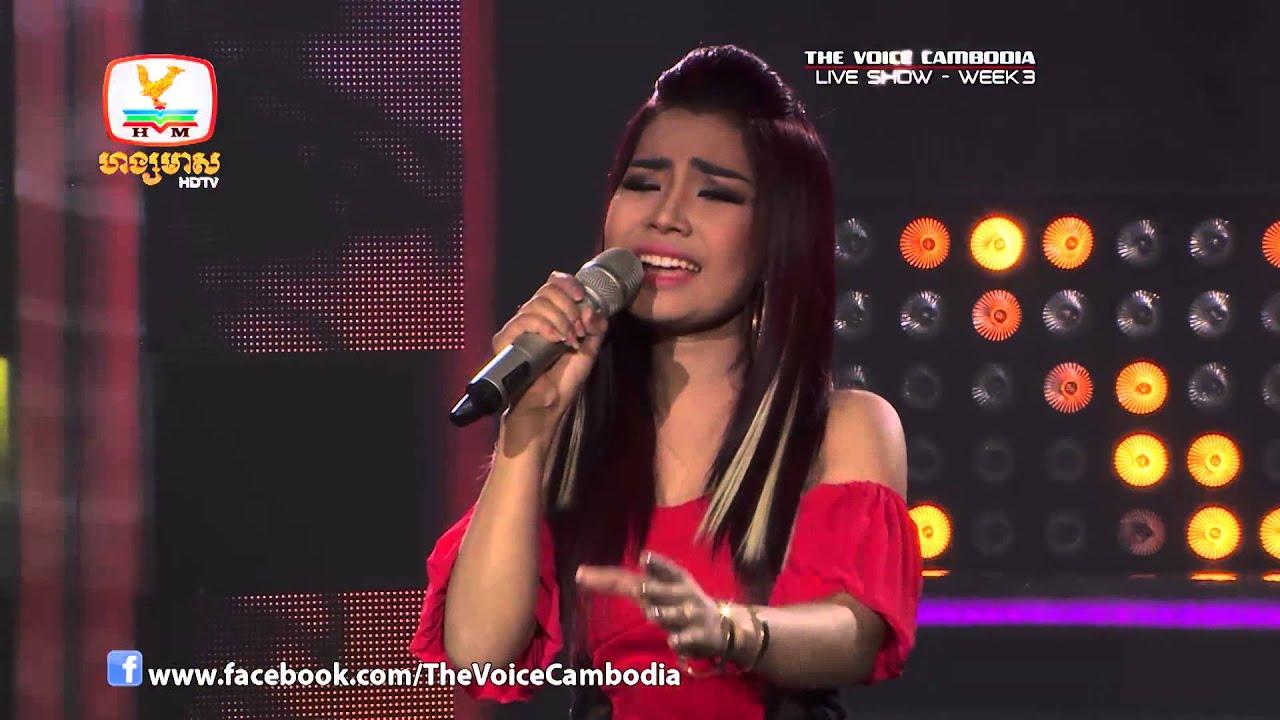 The Voice Cambodia - Live Show 3 - ស្រលាញ់បងមិនស្តាយក្រោយ - បាន មុន្នីល៏ក្ខ