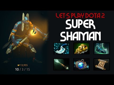 Super Shaman – Shadow Shaman Support –DOTA 2