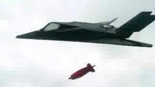 RC F-117 with BOMB!!!