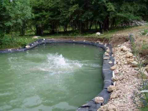 видео: Как я строил свой пруд