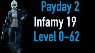 Payday 2 Infamy 19 | Part 1 | Level 0-62 | Xbox One