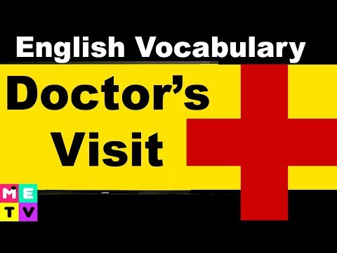 How to Talk to a Doctor in English 👷💉💊 | Visiting a Clinic or Hospital
