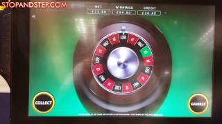 Double Bonus Roulette NEW William Hill FOBT Roulette