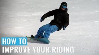 One of Snowboard Addiction's most viewed videos: How To Improve Your Riding (Regular) On A Snowboard