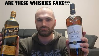 How to know if whisky is fake?