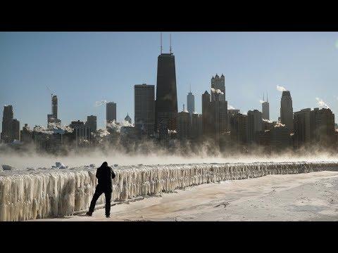 Рекордные холода в США: кое-где – до минус 53