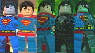 Superman Evolution in Lego Videogames
