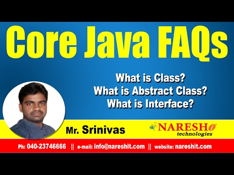 what-is-class?-what-is-abstract-class?-what-is-interface?- -core-java-faqs-videos