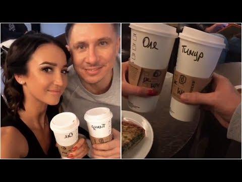 Бузова и Батрутдинов🤗 И вновь совершенно случайно встретились в одном кафе
