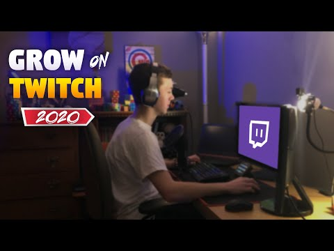 How To GROW On TWITCH In *2020* (Quick Tutorial)