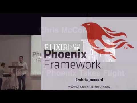 ElixirConfEU Keynote: Phoenix Takes Flight