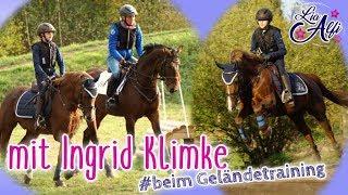 Lia & Alfi - Geländereiten mit Ingrid Klimke -  Training bei meinem Idol!