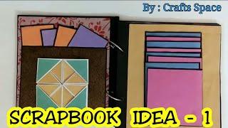 Scrapbook Ideas | Diy Easy Scrapbook | By Crafts Space