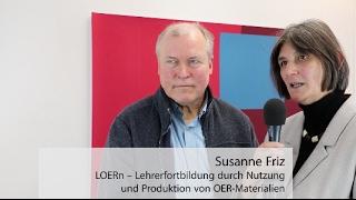 OERinfo – Dr. Susanne Friz und Johannes Philipp (LOERn) im Interview