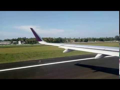 Cochin airport takeoff best video in HD