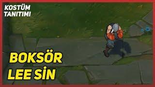 Boksör Lee Sin (Kostüm Tanıtımı) League of Legends