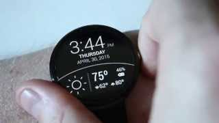 My favorite Android Wear watchfaces! (Moto 360 and Facer)