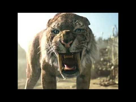 Saber Tooth Cat Vs Dire Wolf