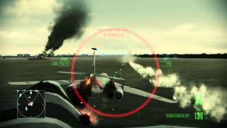 Ace Combat Assault Horizon - Sukhoi PAK FA T-50 - Aftermath - PC Gameplay