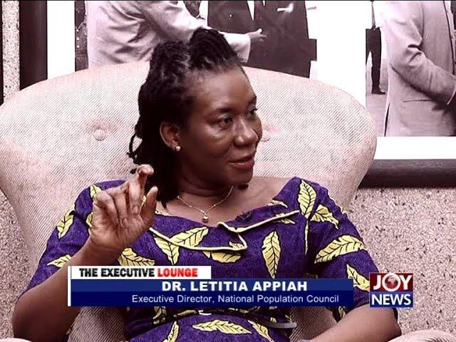 Dr. Letitia Appiah - The Executive Lounge on Joy News (5-2-18)