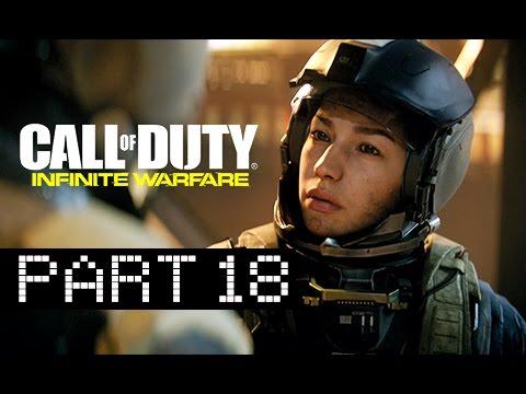 Call of Duty Infinite Warfare Walkthrough Part 18  Ship Yard Lets Play