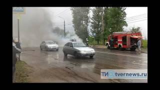 В Твери произошло ДТП УАЗ и Шевроле Камаро