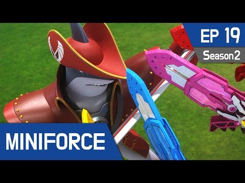 Thumbnail: Miniforce Season2 EP19 Shaku, the Pirate King Pt 1 (English Ver)